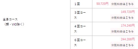 湘南美容クリニック 全身コース