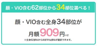 恋肌 月額909円